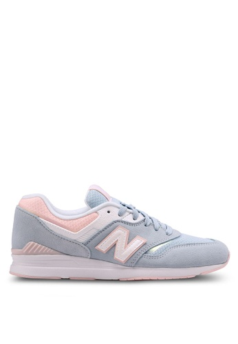 New Balance 黑色 697 Lifestyle Sneakers D809CSHE195326GS_1