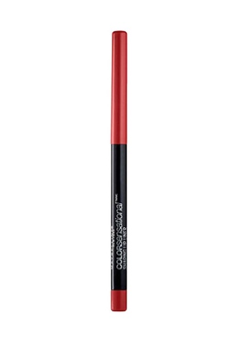 Maybelline red Maybelline Color Sensational Lip Liner - Brick Red 706B9BE2A631A7GS_1