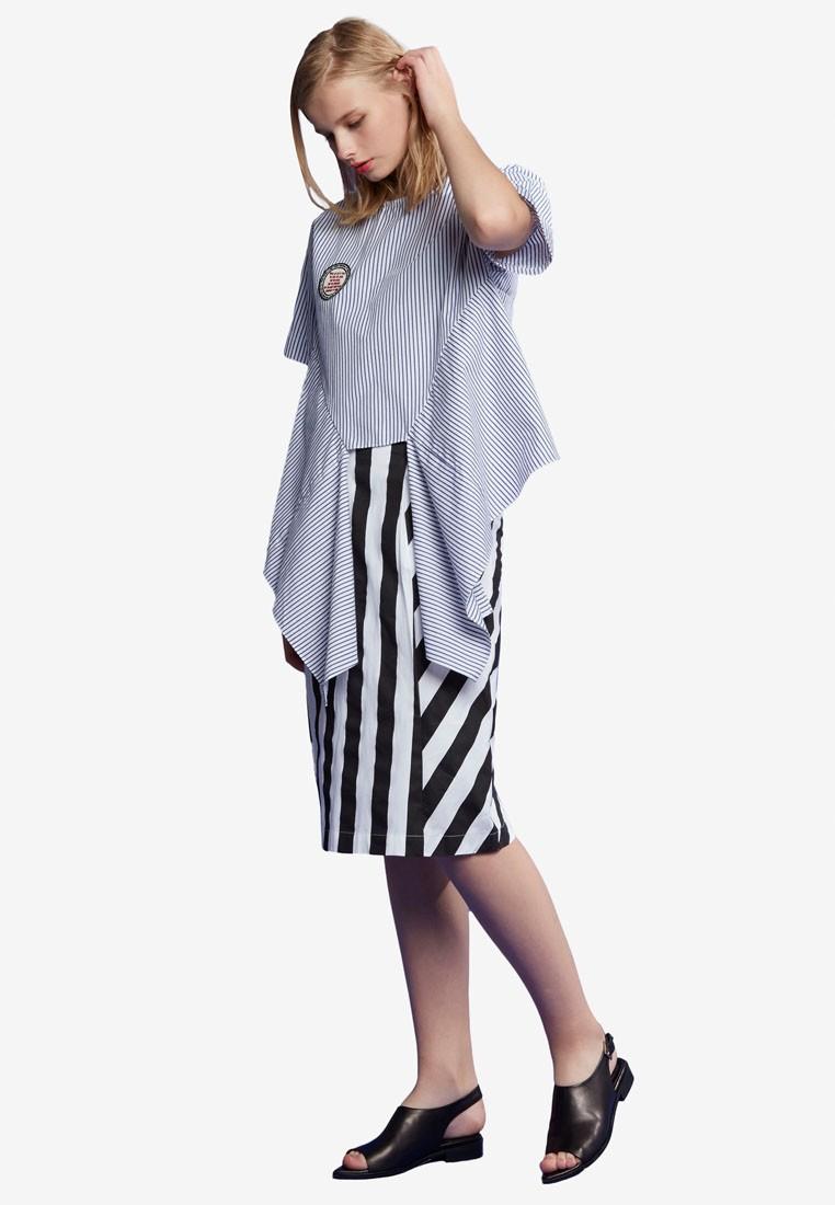 Stripe Tied Shirt