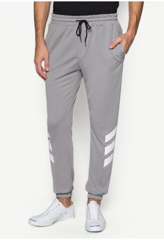 Diagonal Stripe Sweatpants