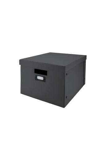 Milton Home SET OF 2 Milton Home MH BD0522-3-G Foldable Box (M)  33X44X25 Home Organizer / Space Saver / Storage 5CFB0HL73E5141GS_1