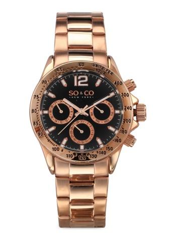 SO&CO gold Monticello Watch 5001 SO540AC0SHLCMY_1