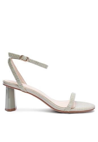 Twenty Eight Shoes Pattern Faux Leather Strap High Heel 369-1 D71DFSHC2418C7GS_1