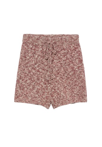 Mango pink Flecked Knitted Shorts BCFC4AAF3E0377GS_1