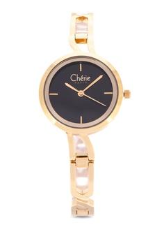 1703fb3f7699 Cherie Paris gold Bianca Women Stainless Steel Strap Watch CHR-1825L-IPG  1400DAC847C729GS_1
