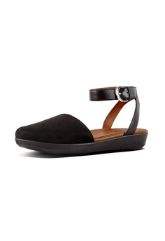 798078dce 23% OFF Fitflop Fitflop Cova Closed-Toe Sandals Suede (Black) RM 569.00 NOW  RM 439.00 Sizes 5 6 7