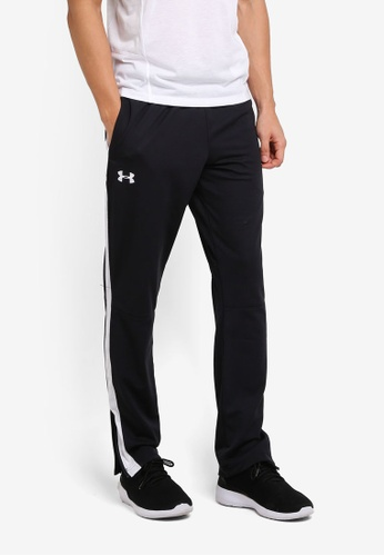 Under Armour black Sportstyle Pique Track Pants UN337AA0SU7WMY_1