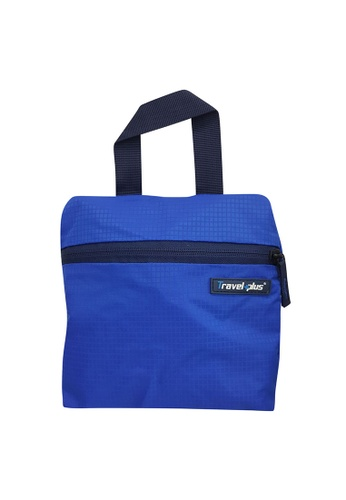 Travel Plus blue Lightly Folding Backpack 6BEF2ACF55980DGS_1