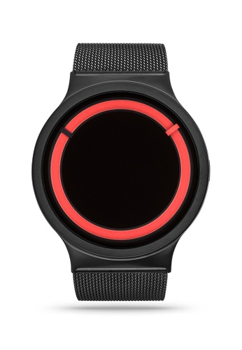ZIIIRO black and red Eclipse Steel Black Red Watch BA2BEACFB29A26GS_1