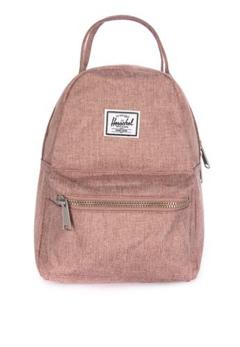 Herschel pink Nova Mini Backpack BDCC4ACEA4D1A4GS_1