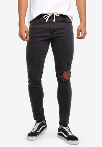 Cotton On black Super Skinny Jeans 0AACCAAEABF0E7GS_1