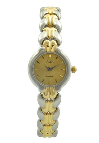 Alba gold and silver ALBA Jam Tangan Wanita - Silver Gold - Stainless Steel - ARY12H AL383AC25NCKID_1