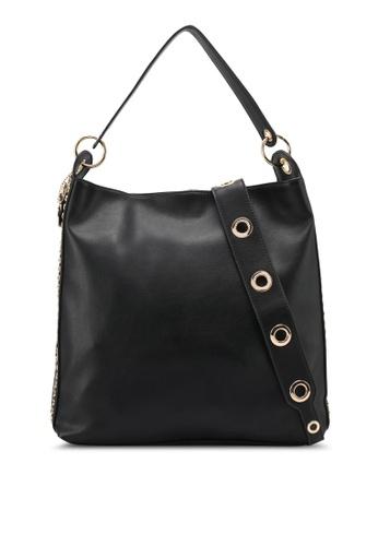 Perllini&Mel black Faux Leather Shoulder Bag PE444AC0SJ01MY_1