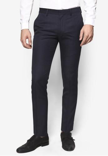 Cresprit 衣服osshatch 窄管西裝長褲, 服飾, 服飾