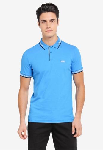 BOSS blue Paul Polo Shirt - Boss Athleisure BO517AA0SRARMY_1