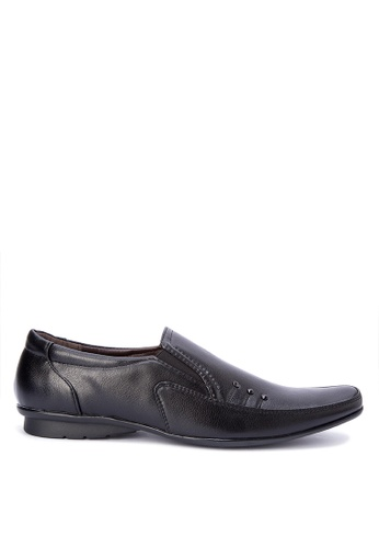 H2Ocean black Gabrian Shoes H2527SH0K3DUPH_1