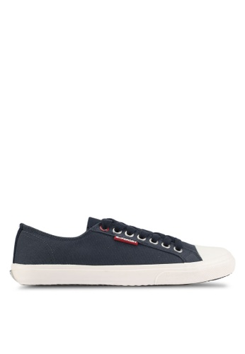 Superdry navy Low Pro Sneakers 3F1C8SH73F2215GS_1