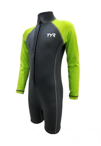 TYR grey TYR Junior Long Sleeve Neoprene Suit 83918KAB219107GS_1