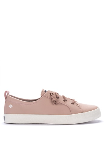 2003e7b2eb397 Shop Sperry Crest Vibe Ap Crepe Leather Sneakers Online on ZALORA  Philippines