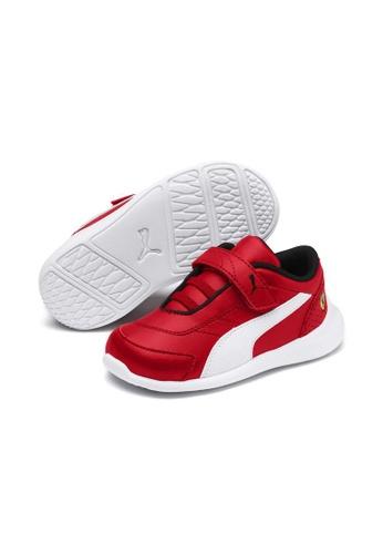 énorme réduction 36ba2 a1b1a PUMA Scuderia Ferrari Kart Cat III Shoes INF 306430