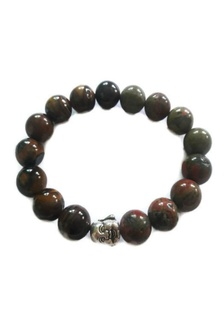 a7079b8307d8c Feng Shui Tiger Eye Unakite with Laughing Buddha Bracelet BE436AC50COVPH 1 Be  Lucky Charms ...