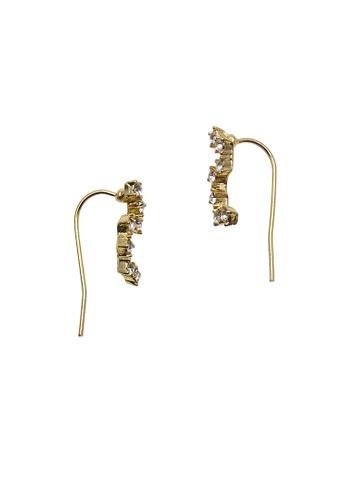 LUCCACAL gold Dipper Ear Crawler LU294AC83UMQMY_1