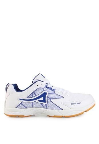 Ardiles white Men Nadal Badminton Shoes AR073SH0UM27ID_1