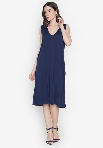 Chictees blue Janine Jumper Dress CECD0AABB05C6FGS_1