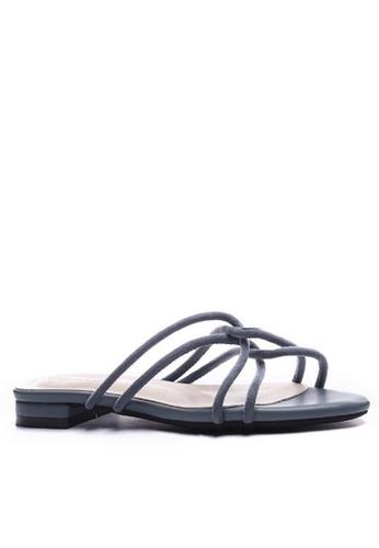 Twenty Eight Shoes 交叉幼帶涼鞋6848-3 1DB7DSH9417722GS_1
