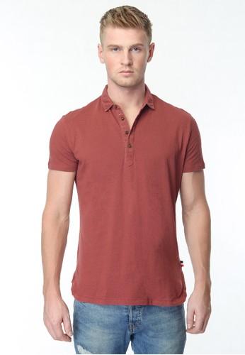 CVNL Classic Kaos Polo Shirt Pria Slimfit
