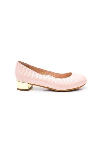 Elisa Litz pink Quinn Low Heels (Pink) A5459SH86FE0CCGS_1