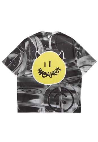 Twenty Eight Shoes Trend Printed Short T-shirt 5377S21 35E86AA0AF402FGS_1