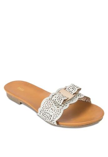 雕花寬帶拖鞋涼鞋, 女鞋,esprit hk office 懶人鞋