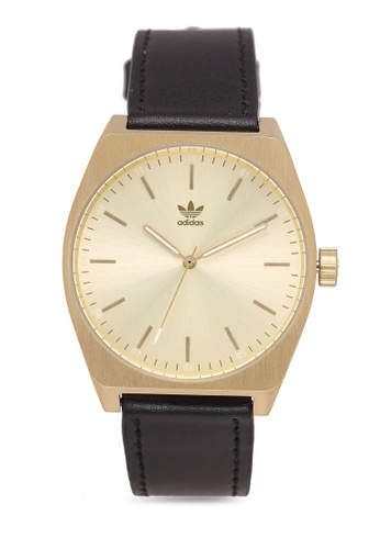 adidas black and gold adidas originals Process L1 Watch 5B194ACB90154EGS_1