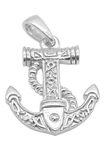 Silverworks silver Arlene Anchor Silver Charm A09EFAC22E4324GS_1