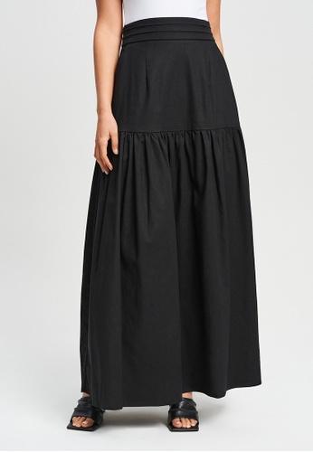 Willa black Valencia Skirt 6B3FDAA7480640GS_1