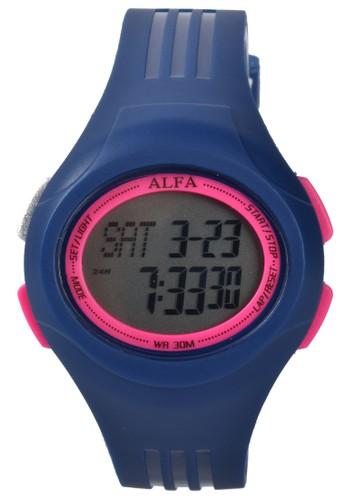 Digitec blue Alfa - Jam Tangan Wanita - Blue - Resin Strap - 330007-D 4D97CACD0A9027GS_1