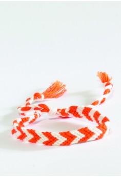 Two-Tone Chevron Bracelet