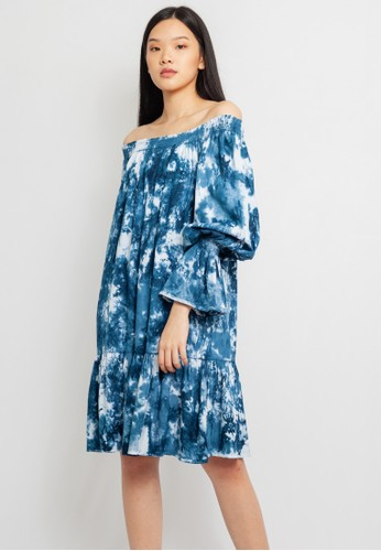 Heart Beads Bali blue and multi Sabrina Dress 12133AAE166CE6GS_1