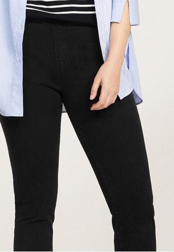 2a20ad55ef9 Buy Violeta by MANGO Plus Size Dark Wash Massha Jeggings Online ...