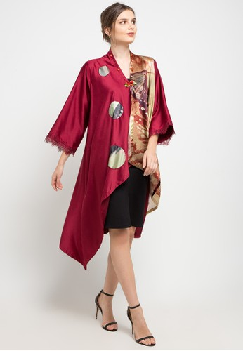 LUIRE by Raden Sirait red and multi P-Tuxedo 8AA27AABA21E98GS_1