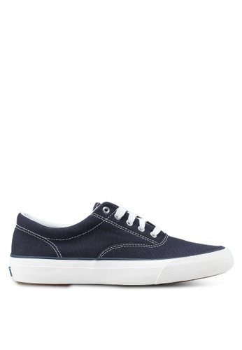 Keds navy Anchor Chambray Sneakers KE942SH0STF0MY_1