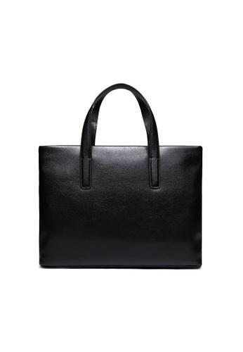 Lara black Men's Plain Tote bag - Black A9847AC13BC76EGS_1
