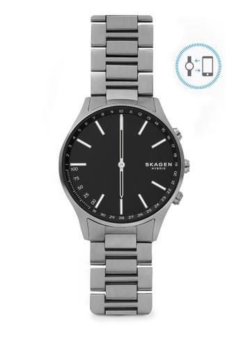 Skagen grey Holst Analog Smartwatch SKT1305 7A6CAACAF1D43DGS_1