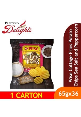 Prestigio Delights Wise Cottage Fries Potato Chips Sea Salt and Peppercorn 65g x 36 Packs (1 Carton) E7057ES2E8BE28GS_1