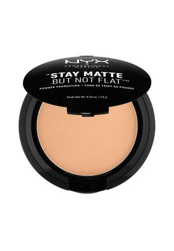 NYX Professional Makeup beige NYX Professional Makeup Stay Matte Powder Foundation- GOLDEN BEIGE 808DEBE029AF72GS_1