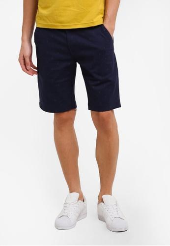 Marc & Giselle 海軍藍色 Bermuda 短褲 MA188AA0RTKNMY_1