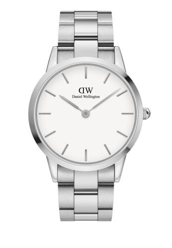 Daniel Wellington silver Iconic Link 40mm Silver White Watch 7BA05AC36B0CEEGS_1