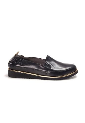 Shu Talk 黑色 XSA 意大利真皮型格輕便鞋 6C2E1SH048C918GS_1