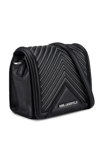 54b6f9310537 Buy KARL LAGERFELD Klassik Quilted Small Crossbody Bag Online ...